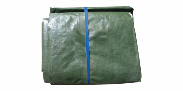 Ground Sheet 5 m x 10 m - NEW