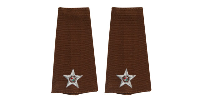 Epaulette (Pair) - Second Lieutenant - NEW
