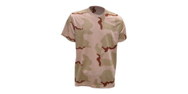 Desert Camo T-shirt – NEW