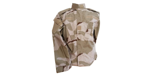 Desert Camo Long Sleeve Shirt – NEW