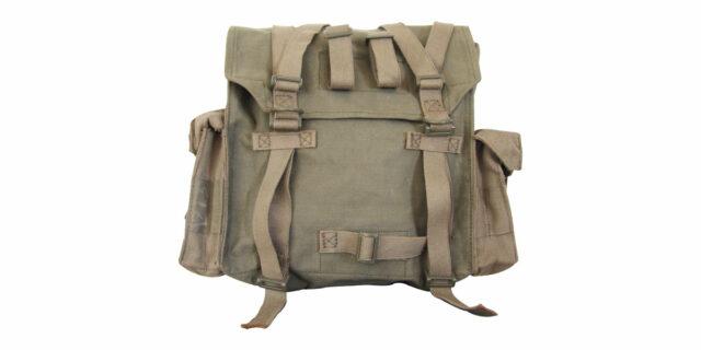 "Canvas Back-pack; ""Groot Sak"" – NEW"