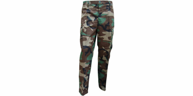 Woodland Combat Trousers – NEW