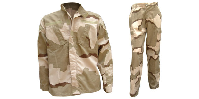 Desert Camo Uniform