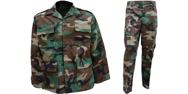 Woodland Camo Uniform
