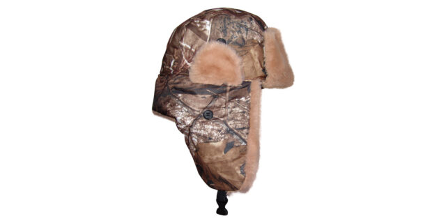 Warm Lined Hat (Forest Camo) - NEW