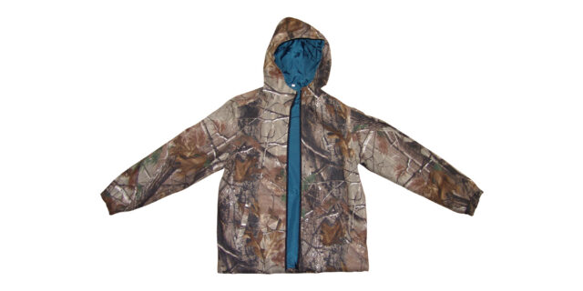 Windbreaker with Hood (Forest Camo) - NEW