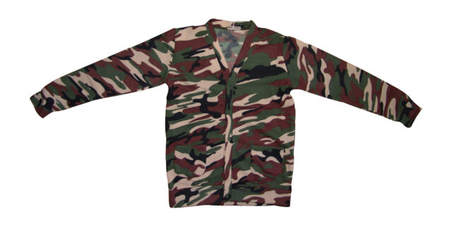 Button-Up Top (4-colour Camo) - NEW