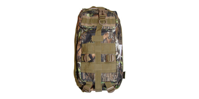 Backpack (4 Compartment, Forest Camo) - NEW