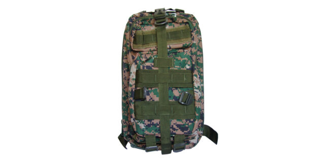 Backpack (4 Compartment, Digital Woodland Camo) - NEW