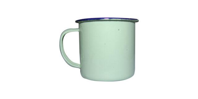 Enamel Mug (Mint Green) - NEW