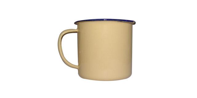 Enamel Mug (Cream Colour) - NEW