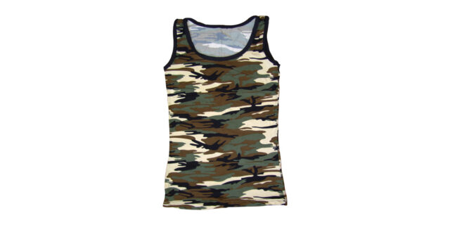 Ladies Camo Vest - NEW