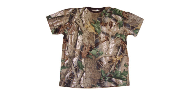 Forest Camo T-Shirt - NEW