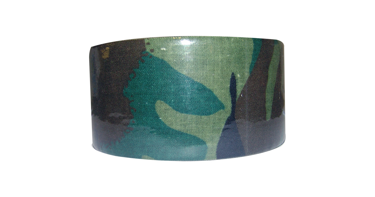 Camouflage Adhesive Tape (Woodland Camo)