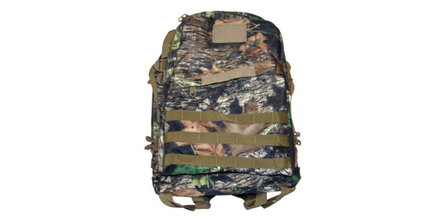 Backpack (3 Compartment, Forest Camo) - NEW