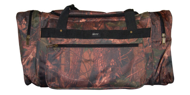 Duffle Bag - Large, 4 Compartment (Leaf Camo) - NEW