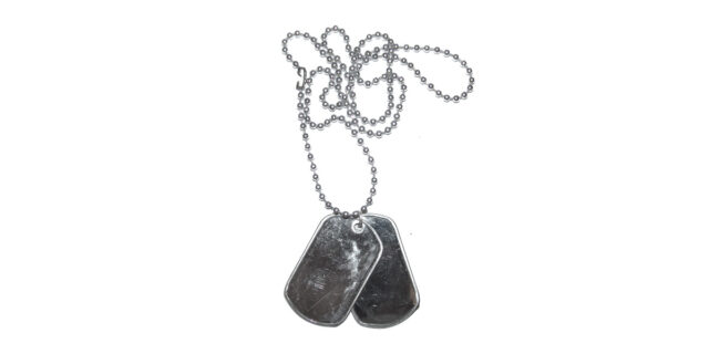 Dog Tags with Chain - NEW