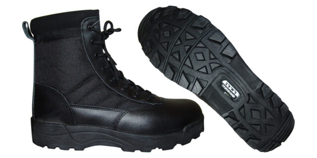 Tactical Boots (Black) - NEW