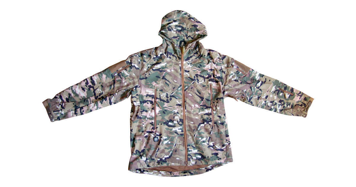 Multicam Jacket with Hood - NEW
