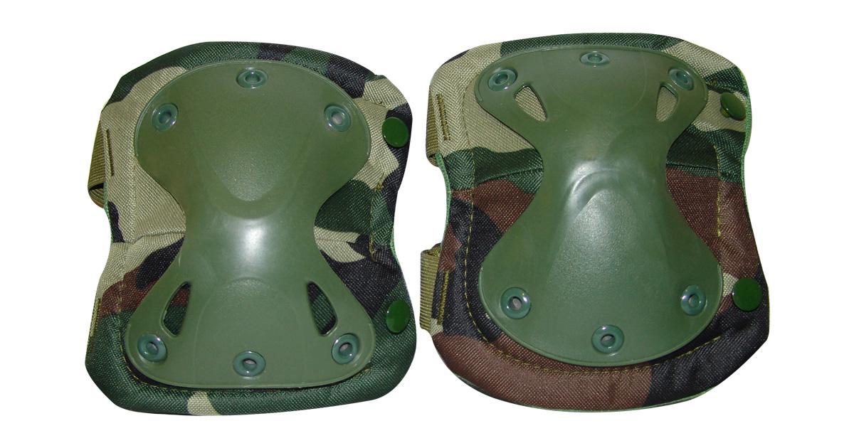 Knee Pads (Woodland Camo) - NEW