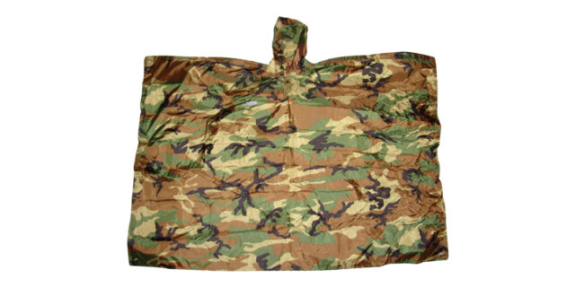 Poncho (Woodland Camo) - NEW