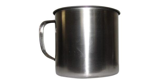 Stainless Steel Mug - NEW