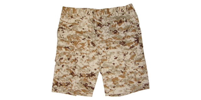 Digital Desert Camo Cargo Shorts - NEW