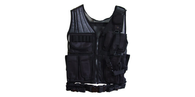 Tactical Vest (Black) - NEW