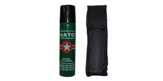 Pepper Spray in Black Pouch - NEW
