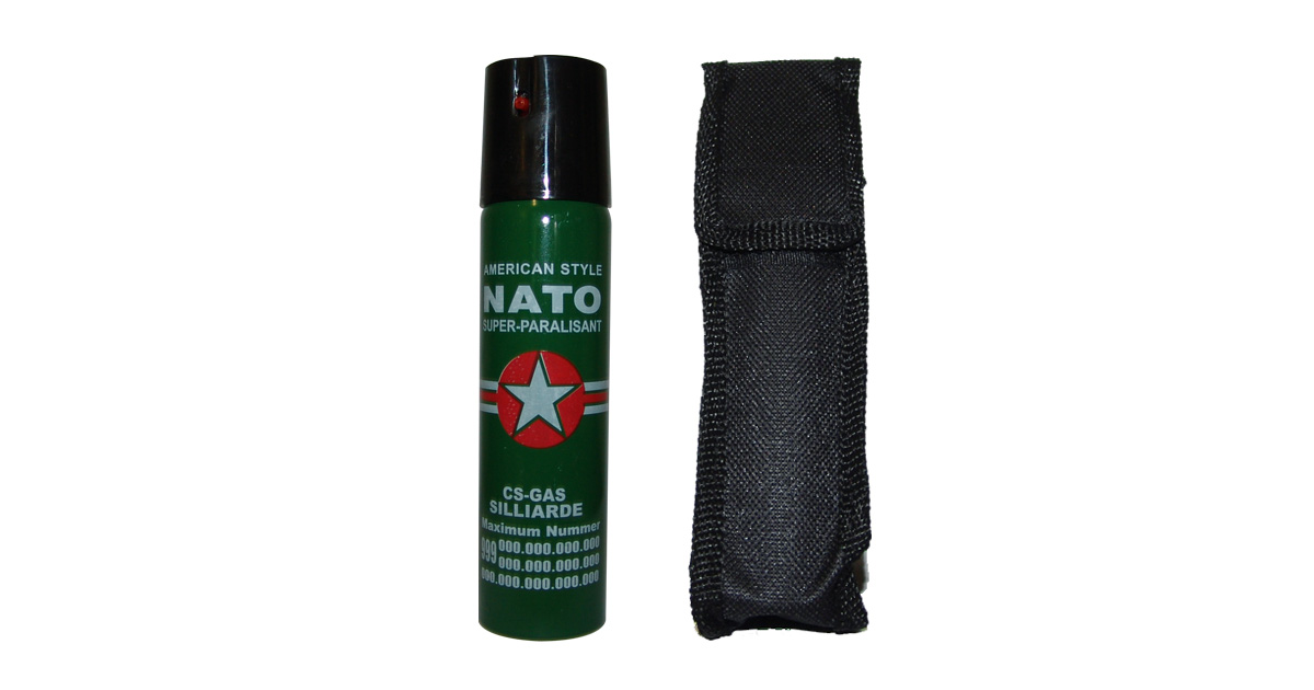 Pepper Spray in Black Pouch - NEW