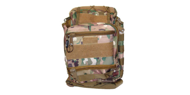 Versatile, 6 compartment, Backpack/Shoulder Bag (Multicam Camo) - NEW