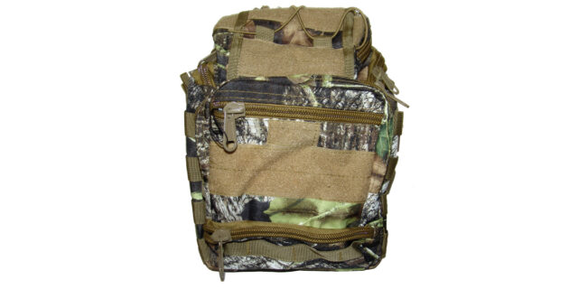 Versatile, 6 Compartment, Backpack/Shoulder Bag (Deep Forest Camo) - NEW