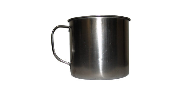 Stainless Steel Mug, Medium - NEW