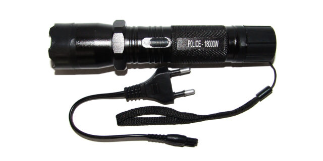 Torch incorporating Taser - NEW