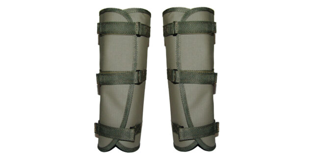 Snake Gaiters (Olive Green) - NEW