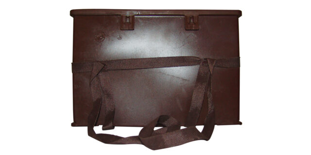 Ammo Box, Ex-SANDF (Brown Plastic) - Used GRADE 1