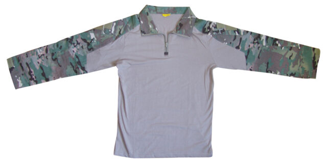Multicam Camo Combat Shirt - NEW