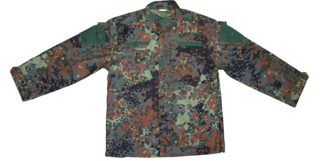 Flecktarn Camo Long Sleeve Shirt - NEW