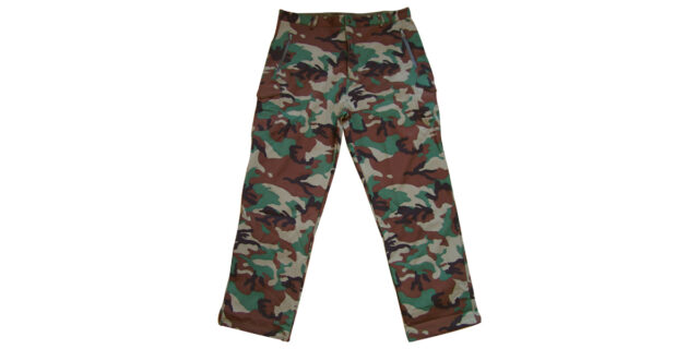 "Woodland Camo ""Soft Shell"" Combat Trousers - NEW"