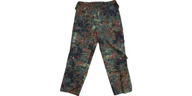 Flecktarn Camo Combat Trousers - NEW