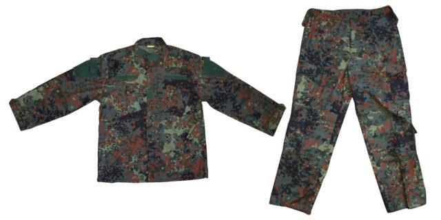 Flecktarn Camo Uniform - NEW