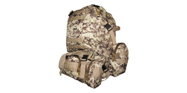 4 Piece Backpack +/- 35L Combo (Digital Desert Camo) - NEW