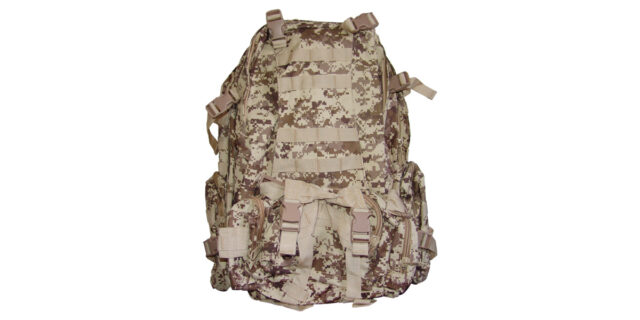 4 Piece Backpack +/- 35L Combo (Digital Desert Camo) - NEW