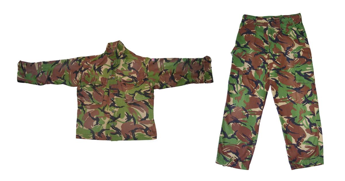 British Military Surplus Uniform (DPM Camo) - Used GRADE 2