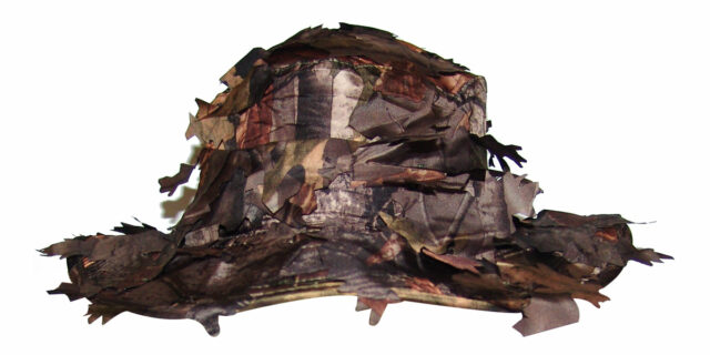 "Bush Hat with ""Broken-Leaf"" Profile (Deep Forest Camo) - NEW"