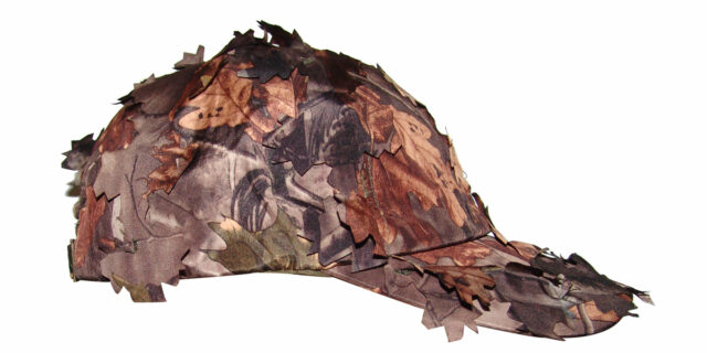 "Cap with ""Broken-Leaf"" Profile (Deep Forest Camo) - NEW"