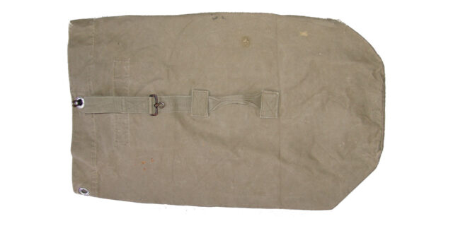 German Military Surplus Duffle Bag - Used GRADE 2