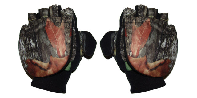 Gloves (Half Finger / Mitten Combo - Deep Forest Camo) - NEW