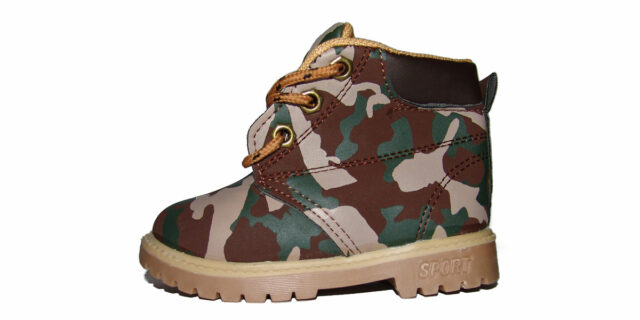 Infants Camo Boots (Bushveld Camo) - NEW