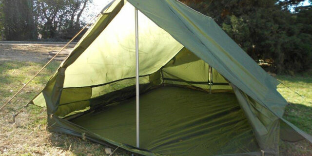 Lightweight 2 Man Cottage Tent (Olive Green) - NEW & 1 Man Cottage Tent (Ripblock Canvas) - NEW | South African ...